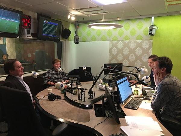 Maurits bij Radio 1