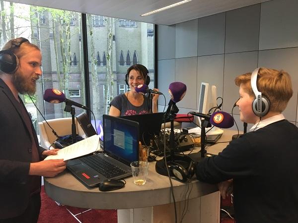 Maurits bij Omroep Gelderland