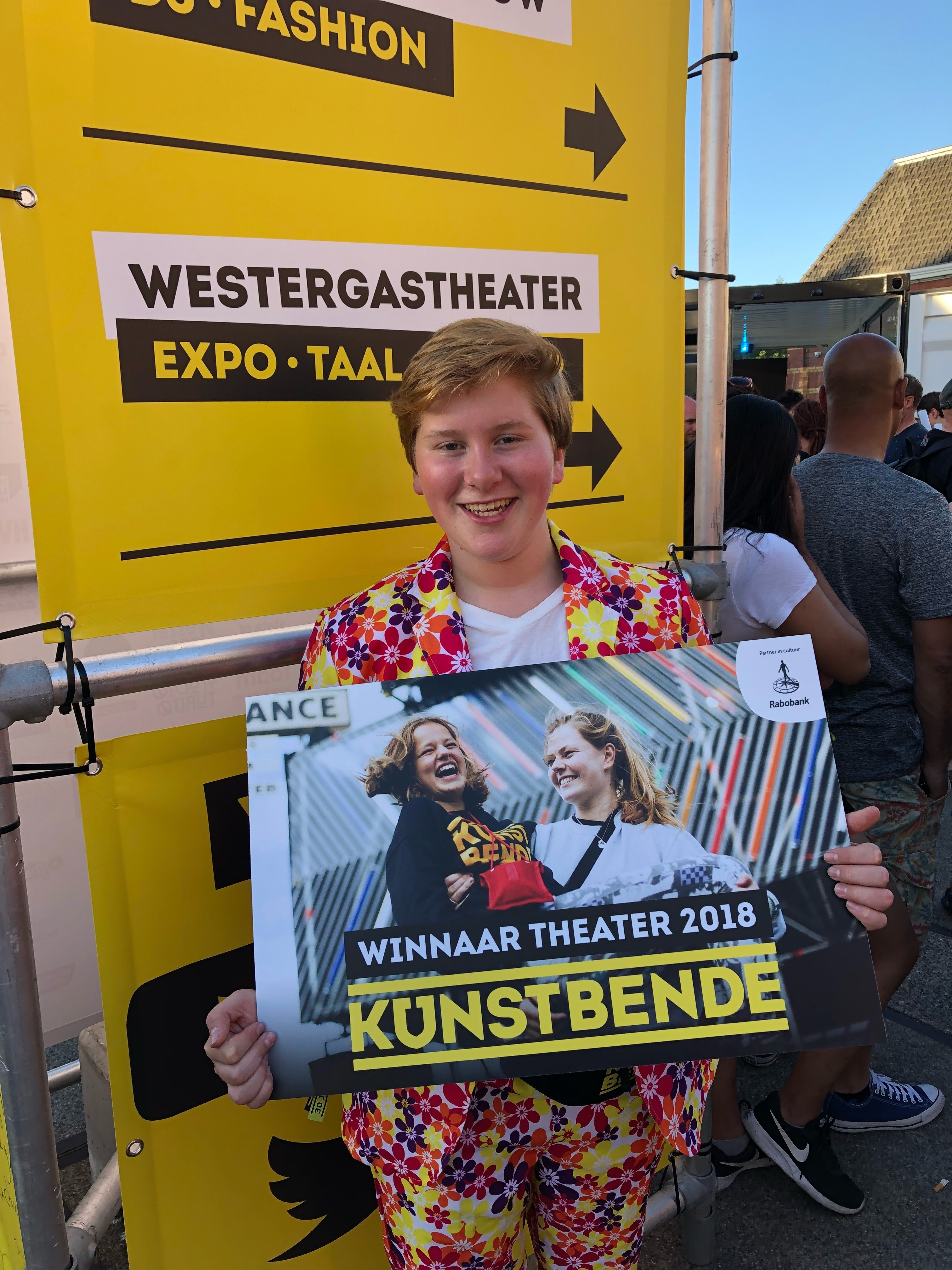 Winnaar Kunstbende 2018