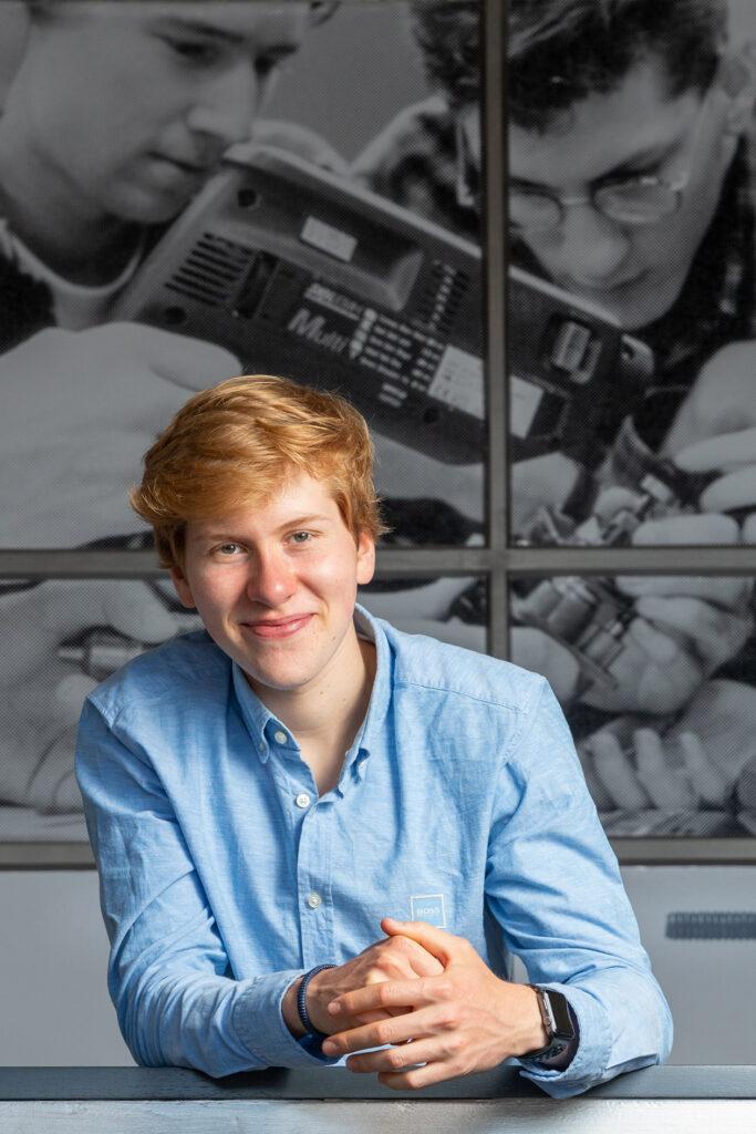 foto van acteur Maurits van Brakel